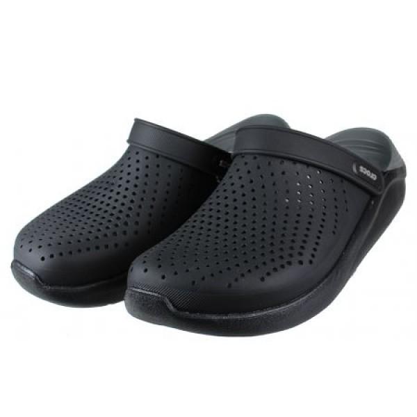 Crocs LiteRide Clog - Black/Slate Grey